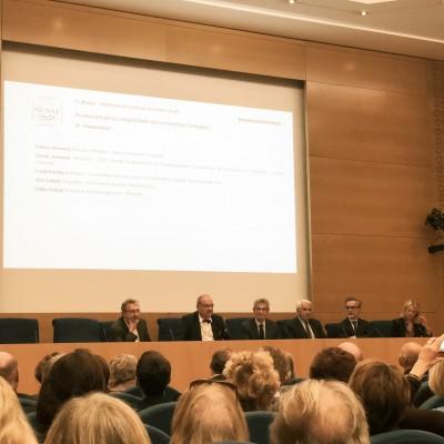 Frank Boehly au Sénat pour défendre la taxe affectée