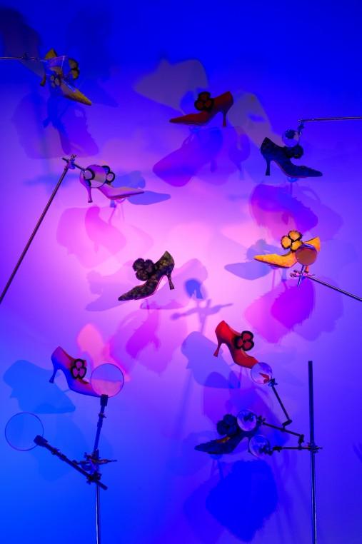 -Des Flowers d'Andy Warhol au soulier Pensée de Christian Louboutin - 1993