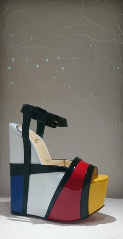 L'art comme source d'inspiration : Mondriana en cuir verni. 2007