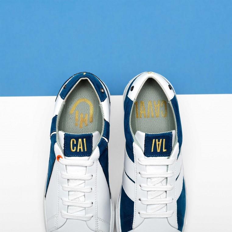 Caval a connu un succès immédiat avec ses sneakers asymétriques.