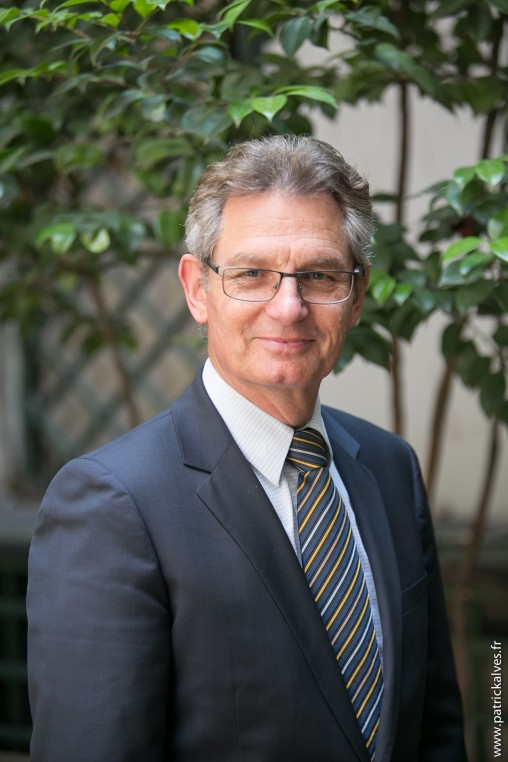 Frank Boehly, président du Conseil National du Cuir.