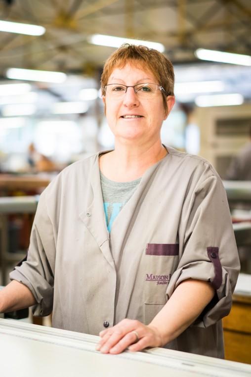 Isabelle Rochereau, coupeur chez Maison Boinet.