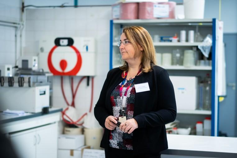 Béatrice Renard, directrice recherche & développement chez ATC Tannery Chemicals