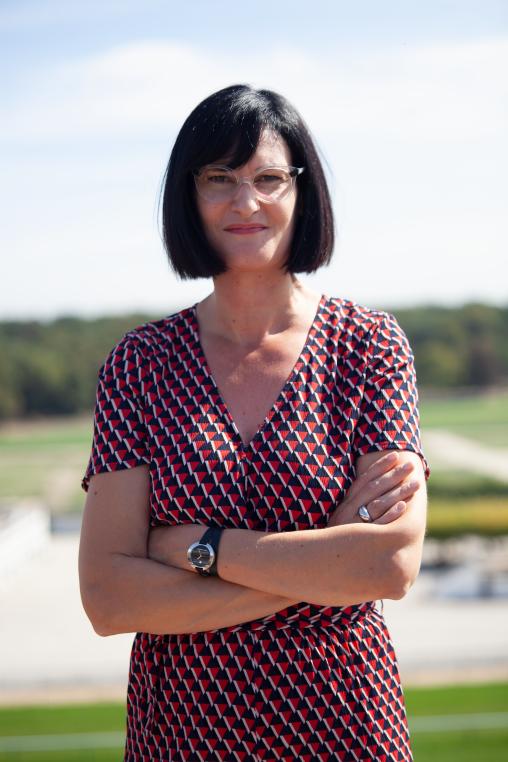 Marie Elizabeth Colaisseau, responsable du site Longchamp à Pouzauges