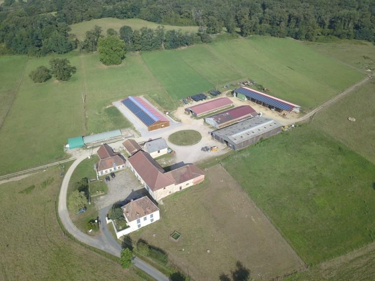 La ferme du Mourier en Nouvelle Aquitaine