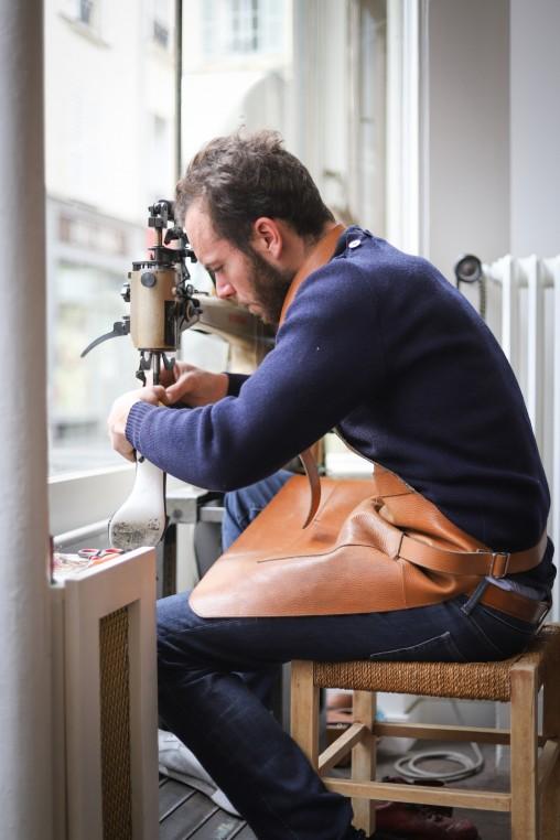 Atelier Desbois, « néo artisan » cordonnier réparateur