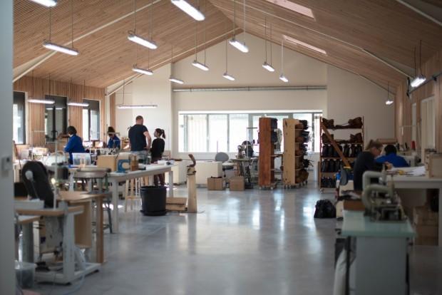 Le nouvel atelier de Bleu de Chauffe.