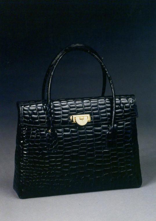 Le sac Croco, caractéristique des années 50