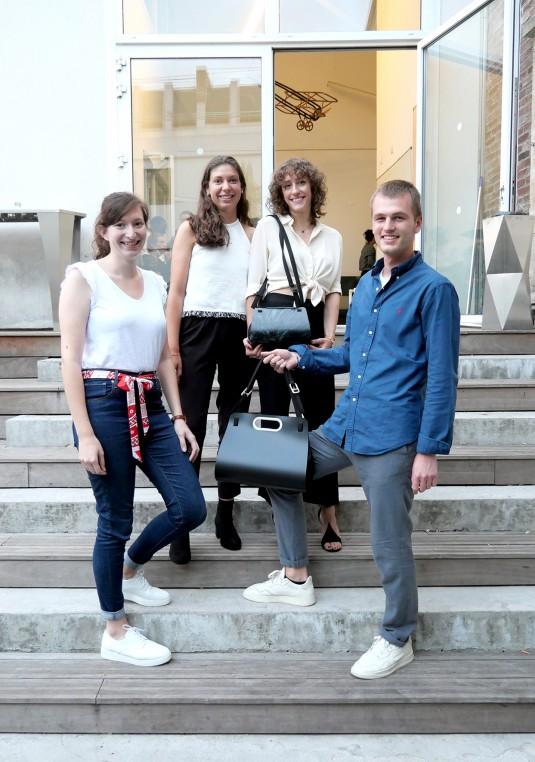 L'équipe de Reset Prix d'Excellence Défi Innover Ensemble 2020