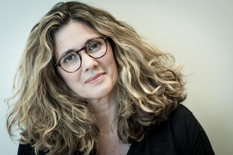 Sophie Grégoire dirigeante de la ganterie Agnelle