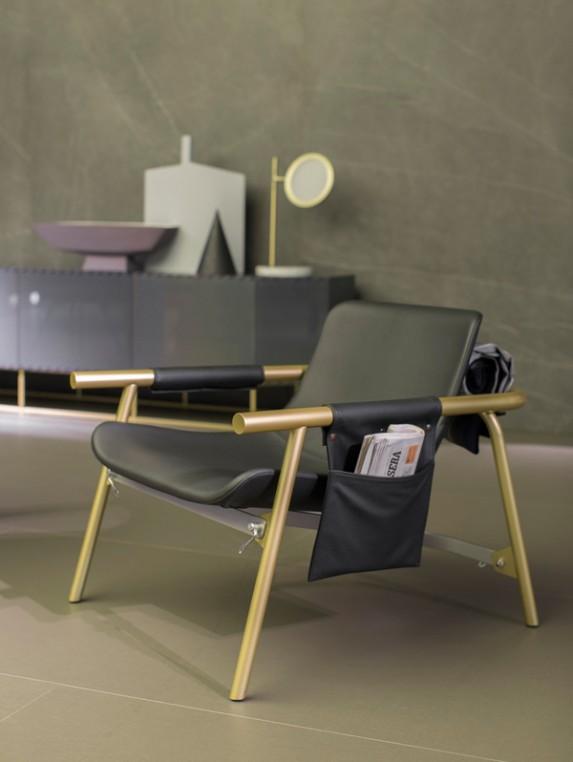 fauteuil Eddy dessiné par Alain Gilles et édité par Bonaldo