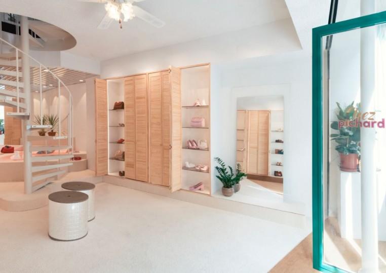 Boutique de chaussures Amélie Pichard à Paris.