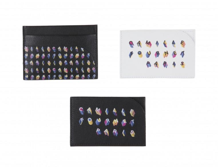 Porte-cartes et bracelets-montres créées spécialement pour le Bon Marché