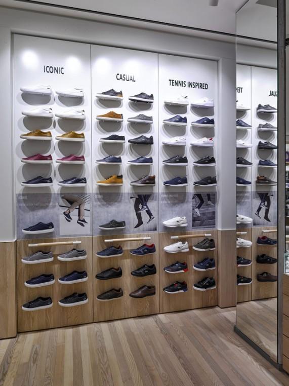 Nouveau concept store Lacoste
