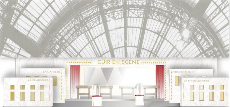 Cuir en Scène, exposition imaginée par Anne Camilli pour le Conseil National du Cuir sur RÉVÉLATIONS, du 22 au 26 mai 2019