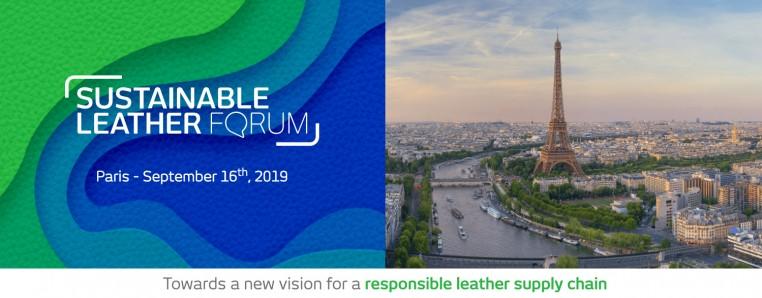 1er forum international Sustainable Leather Forum organisé le par Conseil National du Cuir