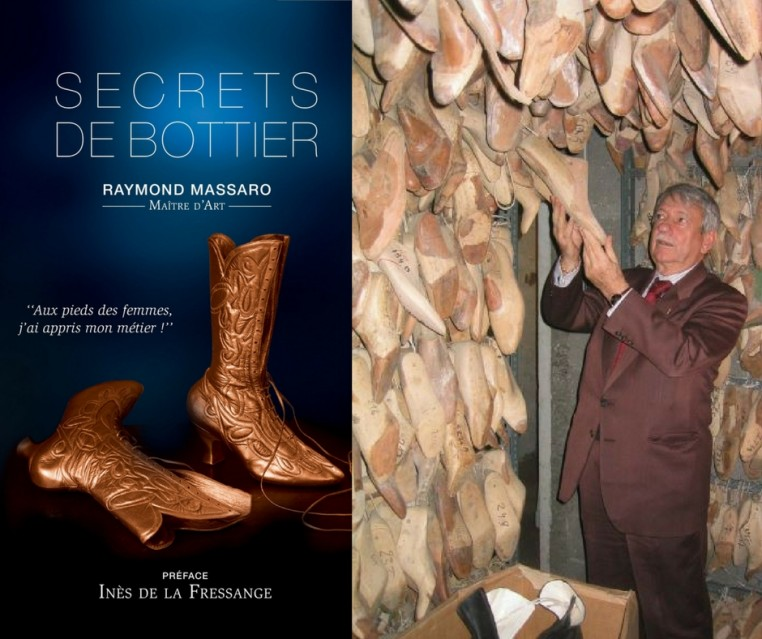 Livre Secrets de Bottier de Raymond Massaro.