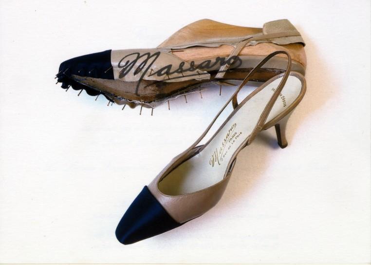Sandale Chanel 1957 par Raymond Massaro.