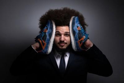 Edgar Lucilla a reçu le Prix Avenir Métiers d'Art de l'INMA pour sa première paire Sneakers Lux fabriquée à la main