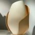 Eclipsis, la rencontre réussie de deux matériaux contrastés, le cuir et la porcelaine, par Laetitia Fortin et Passage Secret.
